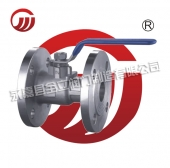 Integrated high temperature stainless steel ball valve Q41M