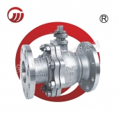 Soft sealing flange stainless steel ball valve Q41F